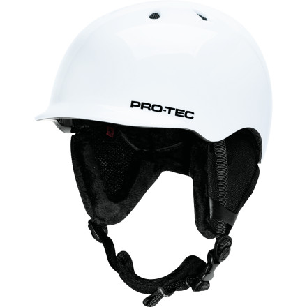 Snowboard Mom and Dad want you to wear a helmet because they don't want you getting brains all over the groundit's bad manners. Luckily, the Pro-Tec Kids' Riot Boa Helmet is one you can wear with zero embarrassment because of its cool skate style and wind shield that gets rid of gaper gap. - $90.99
