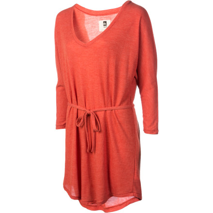 Entertainment From west to east and north to south, the versatile QSW Women's Midtown Bowery Dress flatters your look wherever you roam. A V-neck, dolman sleeves, and a self-belt combine for a free-feeling, ultrafeminine silhouette that's fun, flirty, and almost always appropriate. - $36.98