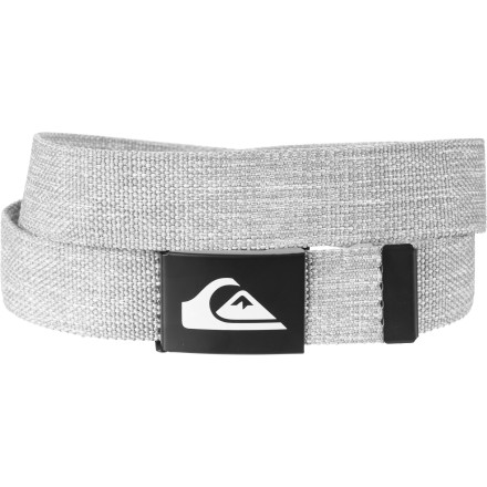 Surf No one wants to see your junk, so hold your pants up with the Quiksilver Juice Belt. No longer will you offend little old ladies when you have laced the cotton webbing through your belt loops. - $9.00