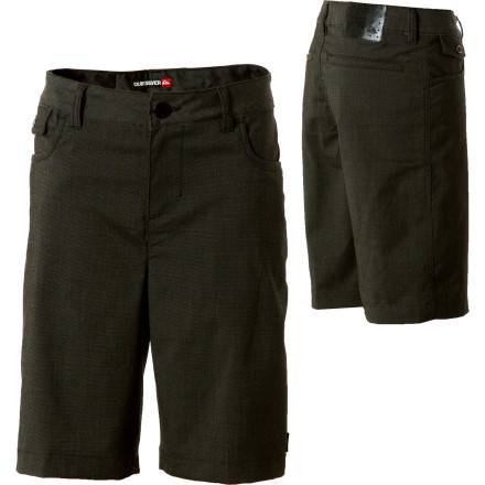 Fitness Once he starts wearing the Quiksilver Boys' Tyler Casual Short and talking about his friend you never see, it's time to start asking questions. You're not sure what sort of club's he's joining after school or if he's using this stretchy, quick-drying short for yoga or jujitsu. - $23.00