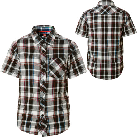 Surf Keep your kid looking classy in the Quiksilver Apache Shirt. 60% of the time, it works every time. - $14.70