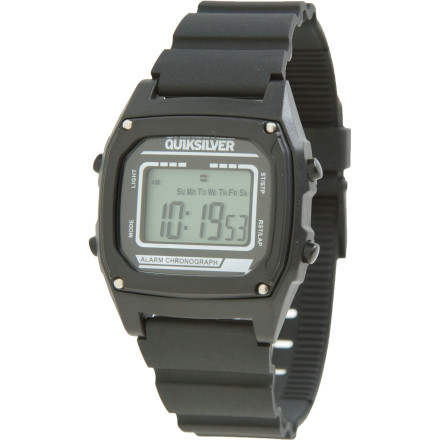 Entertainment Geek chic is So Hot Right Nowstay in the loop with the Quiksilver Short Circuit Watch. Basic, bomb-proof polycarbonate construction and a variety of fresh colorways keep you in the good graces of the Fashion Gestapo. - $49.95