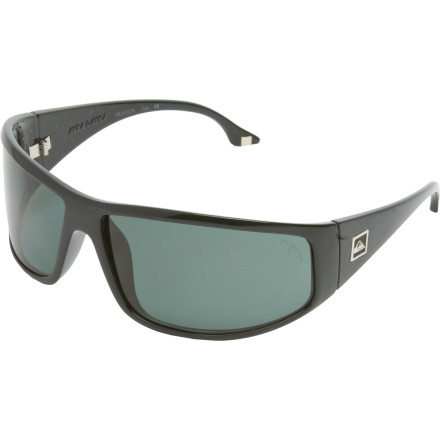 Entertainment The Quiksilver Akka Dakka Sunglasses totally make you look like an international super-spy. Shatter-resistant lenses come in handy during everyday spy tasks like safe-cracking, lock-picking, and high-speed car chases. - $130.00