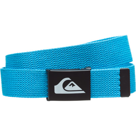 Surf Keep your pants where they belong when you pull on the Quiksilver Boys' Juice Belt. A clamping buckle holds tight, and the soft cotton material feels nice and comfortable on your waist. Maybe it's time to grab a real glass of juice - $7.50