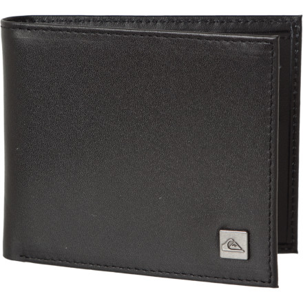 Entertainment For your next visit to Mount Rushmore, be sure to bring your Quiksilver Apex Wallet, which is perfectly suited to the warm, semi-humid summers of the continental climate. - $27.20