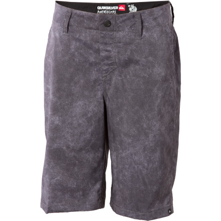 Surf Thanks to its quick-drying, stretchy fabric, the Quiksilver Neolithic Board Short is perfectly at home in or out of the water. Plenty versatile to handle impromptu surf or pool sessions, the Neolithic also features belt loops and pockets for all-around style and around-town function. - $20.80
