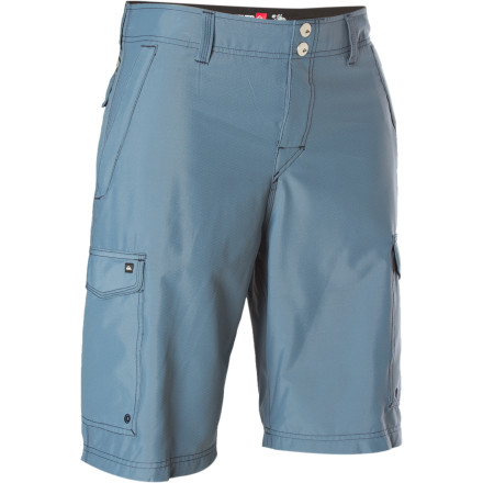 Surf The Quiksilver Rambler Short has more pockets than your grandpa can shake his fist at. But really, ever since his bout with monorchidism, gramps' best fist-shaking days are behind him. - $37.20