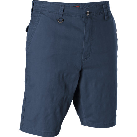 Surf Skip the early-morning runs, shadowboxing, and pint glasses full of raw eggsthe Quiksilver Contender Short's stretchy cotton fabric and modern 20-inch inseam is all you really need to get to the top. - $33.00
