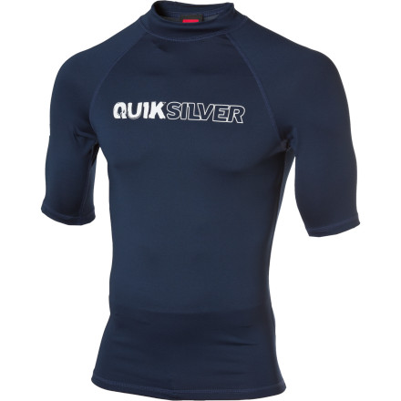 Surf This town ain't big enough for both you and the Quiksilver Outlaw Rashguard. So you'd better just put it on and go surfing. Snug fit for maximum warmth and chafe resistance. - $23.96
