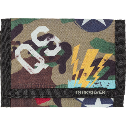 Entertainment Quiksilver Finder Trifold Wallet - Men's - $10.20