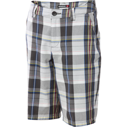 Surf Thanks to its plaid print, the Boys' Toaster Short has the ability to blend into more sophisticated settings; however, thanks to its Quicksilver logo your little rug rat will always fit in where the waters ripple, the toads croak, and quint beach fires blaze. - $19.80