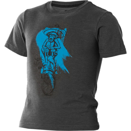 Surf Why is the Quiksilver Little Boys' Chimpcycle T-Shirt so awesome Because there's a chimp wearing a sombrero riding a bicycle. Even if you don't get it, he will. - $8.80