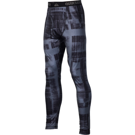 Surf Insulate in style with the moisture-wicking Quiksilver Dune 1st Layer Bottom. The Diamond Jacquard pattern promotes airflow to keep you fresh and the print will drive the ladies wild. At least the ones that see you with your pants off. - $35.00