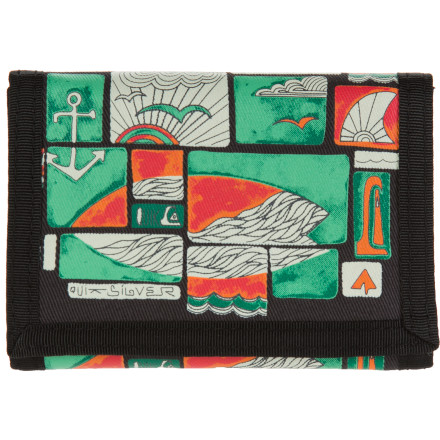 Entertainment Quiksilver Wharf Tri-Fold Wallet - $8.80