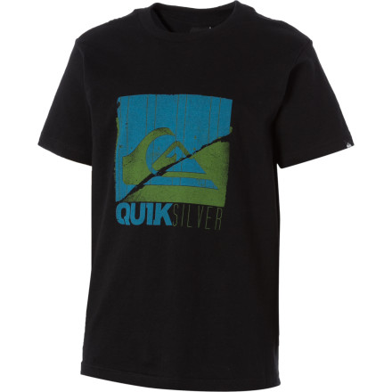 Surf Quiksilver Everything Square T-Shirt - Short-Sleeve - Boys' - $9.90