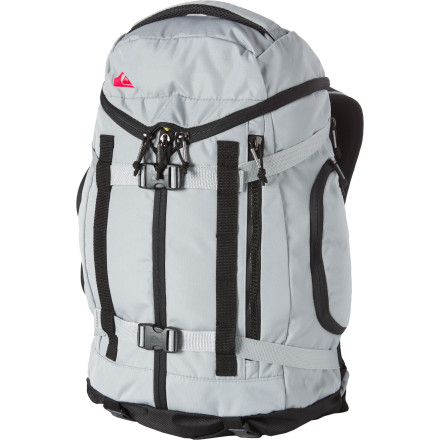 Camp and Hike From town to country, school to work, near or farthe Quiksilver Impact Backpack helps you and your belongings get to your destination with a unique tri-zip front panel and plenty of storage both inside and out. - $80.00