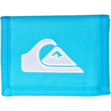 Entertainment Quiksilver Main Stay Tri-Fold Wallet - Boys' - $8.40