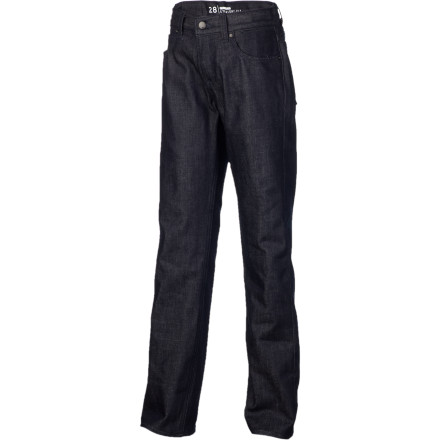 Surf Quiksilver made the Boys' Revolver Denim Pant for guys that aren't into the whole skinny jeans thing. The Revolver Denim Pant has a classic straight fit that will still look good when you see pics of yourself 17 years from now. - $46.00