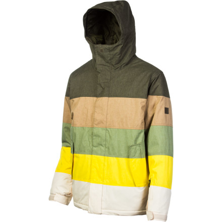 Snowboard Slide into the Quiksilver Fracture Jacket and forget about the bone-chilling outside temperatures. 150g Thinsulate insulation has that taken care of, so you can keep riding long after your buddies have called it quits. - $80.00