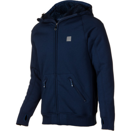 Surf More than just a hoody, the Quiksilver Texture Fleece Hydro Hoody is a true technical outerwear top with casual styling that looks at home on the slopes or at the bar for apres. - $70.00