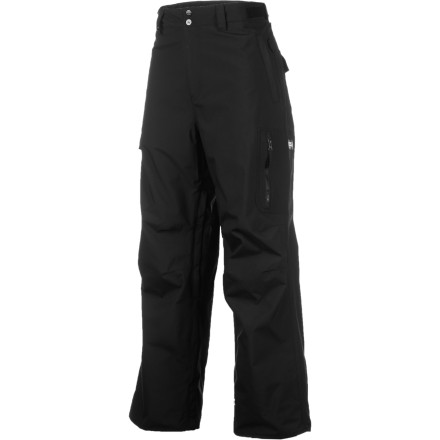 Snowboard The full-featured Quiksilver Surface Pant has you covered in all but the heaviest blizzards with a water-resistant breathable shell and strategically-placed lining patches. - $78.00