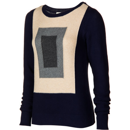 Surf As a cold breeze zips through your bedroom window, you shutter, and quickly pull on the Quiksilver Women's Flag Sweater. This easy-fit sweater keeps you plenty warm when you tackle your chores and meet your friends for a cup of coffee later on. - $25.60