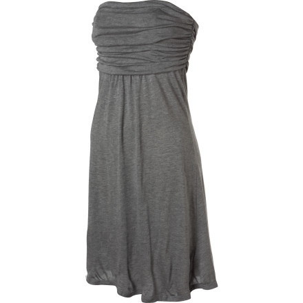 Entertainment Simple yet stunning. The Quiksilver Women's Summer Dress adds a exclamation point to your evening with its elegant aura and strapless style. - $34.80