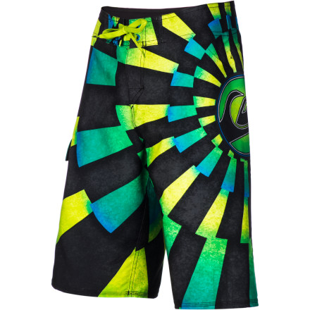 Surf Feel as free as a bird in the Quiksilver Men's What Not Board Short. Full stretch construction, spandex at the front rise, and stretch stitch at the hems work together to give you so much freedom of movement, you'll forget that you're wearing anything at all. - $39.60