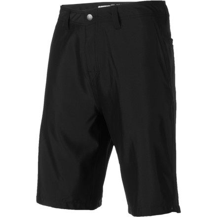 Surf The Quiksilver Dry Dock Hybrid Shorts use super smooth diamond-dobby fabric that is great for a stand-up paddle session or one of those BBQ's at the reservoir that inevitably turns into a drunk swimming party halfway through the bottle of whiskey. - $35.10