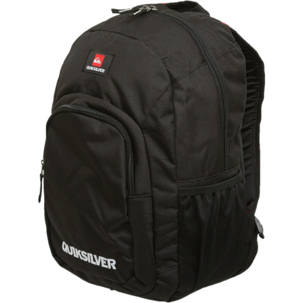 Camp and Hike We're not saying the Quiksilver Shelton Backpack will carry and organize all of your school supplies with ease, butactually, wait. That's exactly what we're saying. - $28.00
