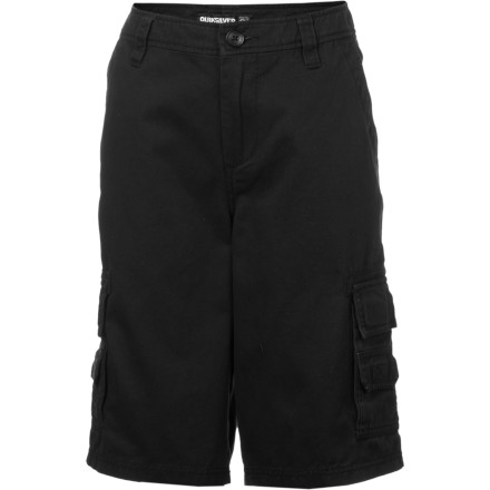 Surf The Quiksilver Escargot Boys' Shorts serve up warm-weather style and all-day comfort. Your little man can rock these shorts from school, to the park, to the beach and back. - $23.70