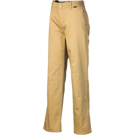 Entertainment The Quiksilver Boys' Union Pant ensures that your kid will look polished when it's dress-up time, but he'll still fit in in at school or the skatepark. The relaxed casualness of this slack works with your plans as well as his. - $29.25