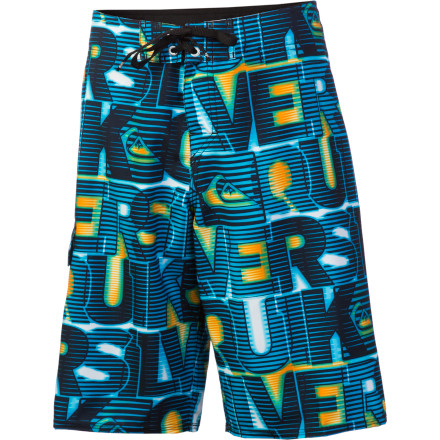 Surf Get your little ripper into the Quiksilver Boys' Dizzy Board Shorts before he hits the water. These ready-to-ride shorts pack the tech he needs to be awesome in the water and the look he needs to look good too. - $20.25