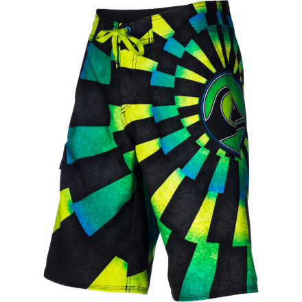Surf With stretch fabric throughout, the Quiksilver Boys' What Not Board Shorts give you all the freedom that your parents won't. Don't tell them, though. If the folks confiscate your What Nots you'll only have yourself to blame. - $33.60