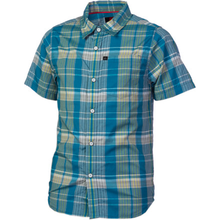 Surf Quiksilver Louie Lazer Shirt - Short-Sleeve - Boys' - $18.90