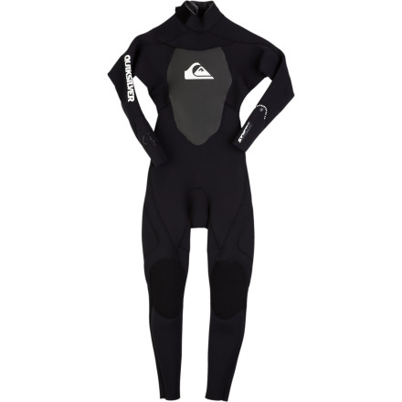 Surf Keep him warm and comfortable and your wallet padded with the Quiksilver Synchro Series 3/2 Boys' Back Zip Wetsuit. Hyperstretch 3.0 neoprene is super-flexible for unrestricted movement, and the Vaporstretch chest panel helps keep his core warm so he can stay in the water longer. Plus it comes at a price that won't break the bank, so you're both happy. - $95.96