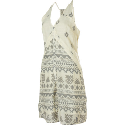 Entertainment The Quiksilver Women's Montauk Highway Dress isn't one to sit home on the couch watching soap operas. It would rather engage in intellectual conversation at the local coffee shop or catch the latest gallery opening. - $42.00