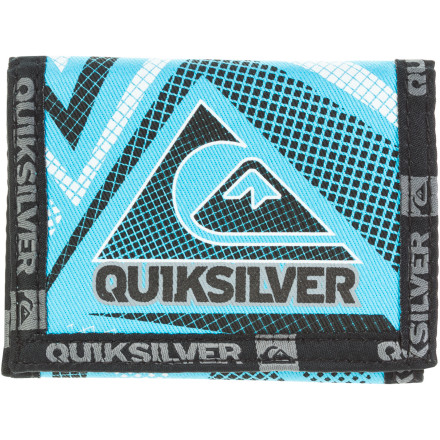 Entertainment Quiksilver Blitzed Tri-Fold Wallet - Boys' - $8.80
