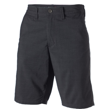 Surf When you're an awkward, pudgy adolescent with thick glasses and blue hair, you need all the help you can get. Which is why Quiksilver created the slightly stretchy, super-stylish Milhouse Short. - $33.00