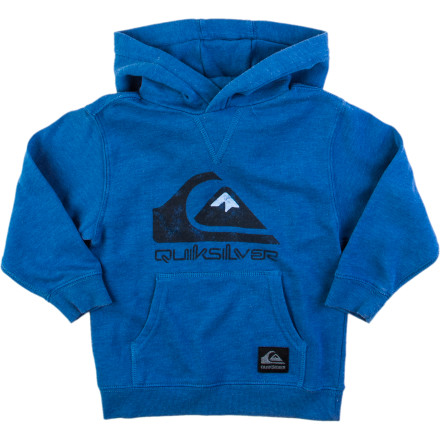 Surf Quiksilver Throw Back Pullover Hoodie - Little Boys' - $22.10