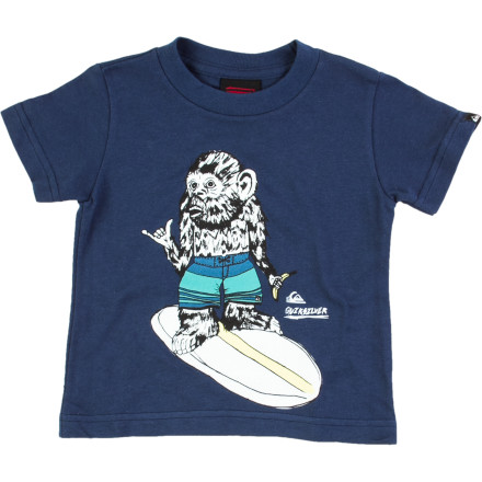 Surf Quiksilver Simple Things T-Shirt - Short-Sleeve - Infant Boys' - $9.10