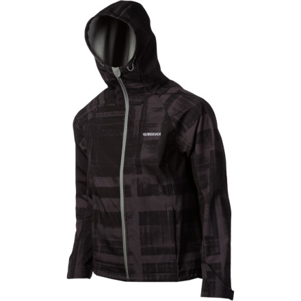 Surf Whether you wear it as a outside layer in the warmer weather or a mid-layer when the temperature drops, you'll appreciate the Quiksilver Elemental Jacket's super-soft, ultra-breathable fabric and regular fit. The Elemental's print stands out, as well, so your buddies will be able to spot you from the lift. - $77.00