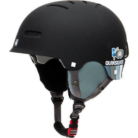 Snowboard Snowboarding can be a battle against gravity, and unfortunately gravity doesn't always lose. Luckily with the Quiksilver Gravity ZF Helmet you can get back up and live to fight another day. - $74.96