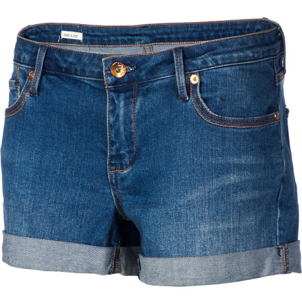 Surf A denim short is as classic in summer as corn on the cob, a cold beer, or a gingham-check tablecloth, and the Quiksilver Women's Gypsy Tour Shorts improve on the original with a wee bit of stretch for practical comfort and distressed details for a funky, carefree attitude. - $29.70