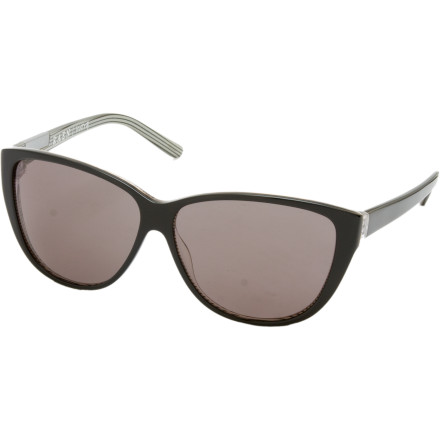 Entertainment Your dog has been known to chew up a few of your shades, so be aware of where you place the chic RAEN Optics Womens Nora Sunglasses. You wouldnt want these vintage-style shades to meet the wrath of your sunglass-eating pooch. - $99.95