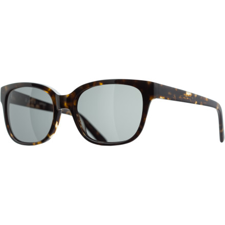 Entertainment The RAEN Optics Savoye Sunglasses feature a slightly raised cat-brow profile for a sleek, streamlined style that works for both guys and girls. - $111.95