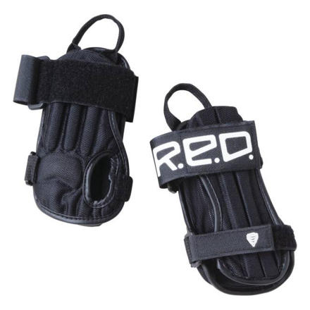 Snowboard Don't let a break or sprain put a halt to your solid session or first attempt at snowboarding. Wear the Red Impact Wrist Guards and you'll be able to send that text to everyone with an update of how stellar your day was. Don't wear them and you'll end up wishing you had. - $23.96