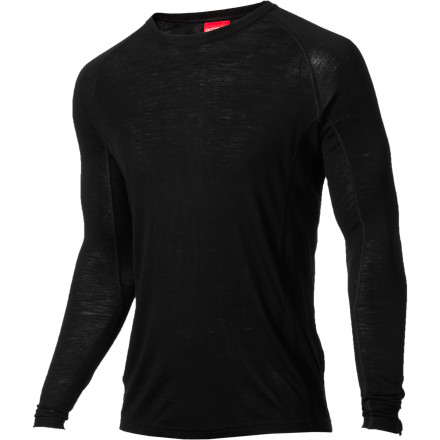 No matter how fancy your jacket is, its hard to stay warm in the outdoors without a quality base layer. RedRams Long-Sleeve Merino Top not only feels soft, but it also dries quickly and helps regulate your core temperature. - $31.87