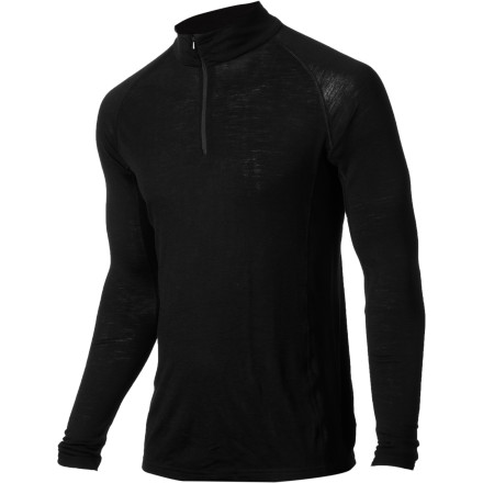 The RedRam Merino Zip Top's merino-wool construction not only provides awesome warmth and moisture-wicking power, it also naturally fights stink. Which is definitely a good thing, if your old polyester base layers smell anything like ours do. - $33.98