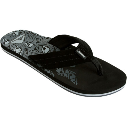 Fishing Reef designers added a soft woven lining to the soft nubuck leather uppers of their Mens Seared Ahi Sandals for extra cush. Grippy Reef rubber adds some stability to your swagger when you start seeing double. A supportive EVA midsole carries you through the blacked-out memories in comfort so at least your feet dont hurt in the morning. - $25.95